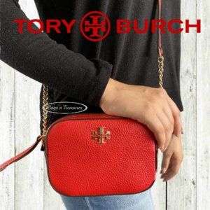 Tory Burch Small Crossbody in Red